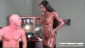 Ufficio oleoso con diamond jackson del massaggiatore smutty-part03