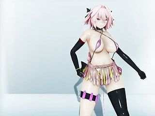 Mmd large pantoons female body astorfo-chan