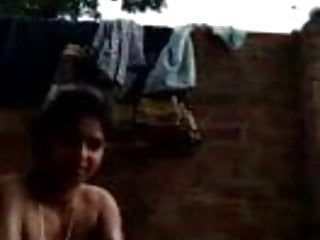 Desi gals naked bathing