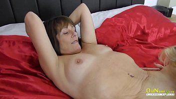 Oldnanny older british lesbian babes licking