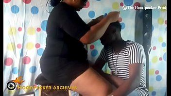 Hawt bbw south darksome hair stylist gangbanged in her shop by bbc.