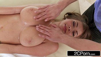 Sinless little massage quickly turns into an oily fuck-fest - cassidy banks