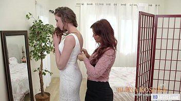 Mamas beauty - la matrigna aiuta con labito da sposa - syren de mer ed elena koshka