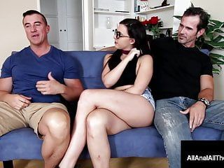 Nerdy sweetheart whitney wright booty stuffed with cuckold bf there