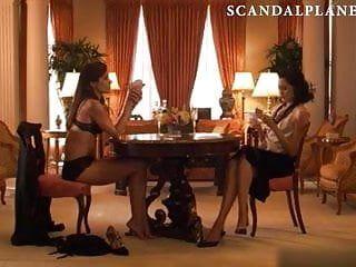 Sandrine holt rachel shelley nude lesbo - scandalplanet