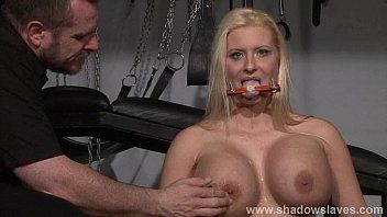 Breasty german bondman melanie moons tounge bound tit tortures and coarse hardcore taskmaster